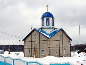 Храм иконы Божией Матери Почаевская д. Артемово